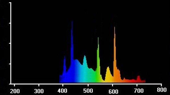 Spektralverteilung (ESL Grow)